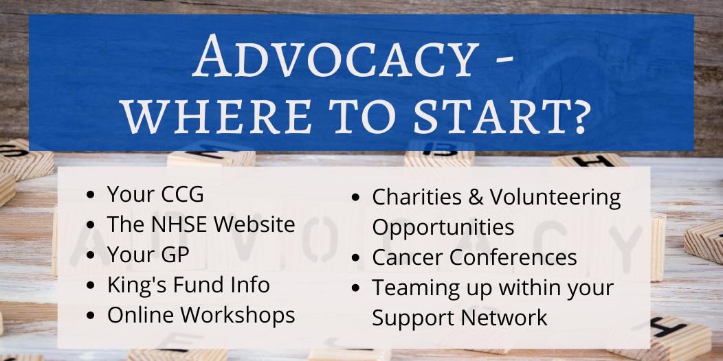 Advocacy - where to start