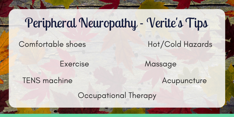 Verite's Tips on Peripheral Neuropathy