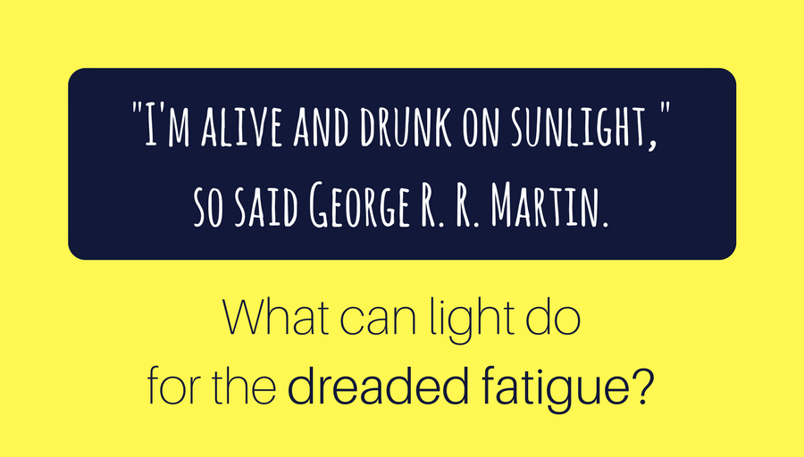 bright light therapy and fatigue